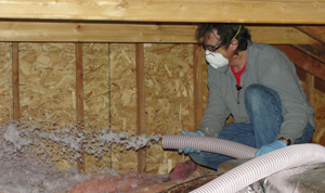 Fiberglass insulation installed South Carolina